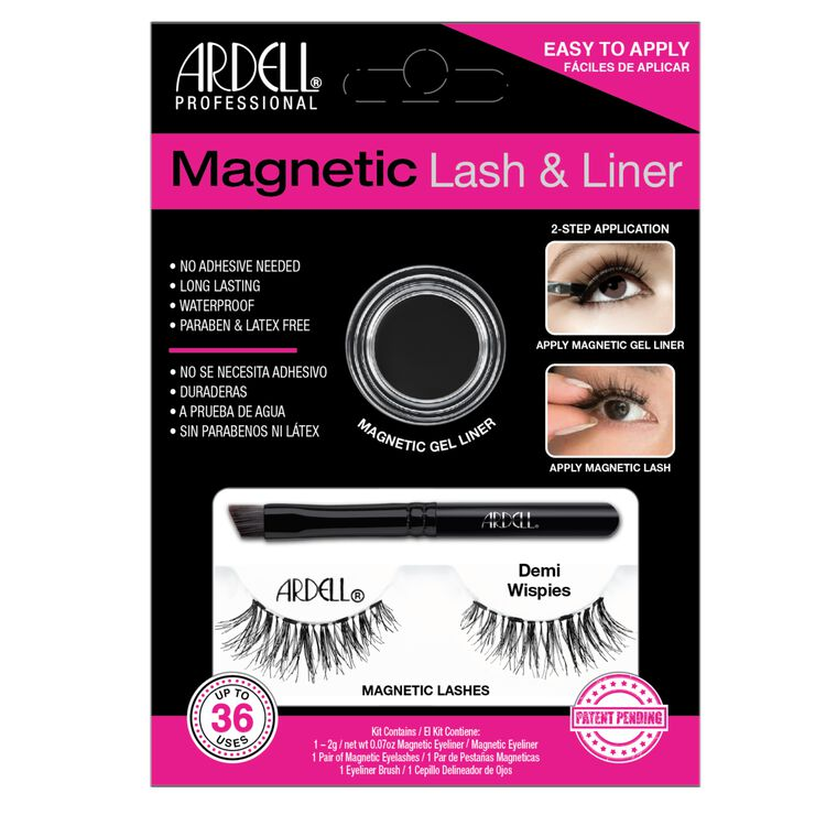 Magnetic Lash & Liner Demi Wispies Lash Kit