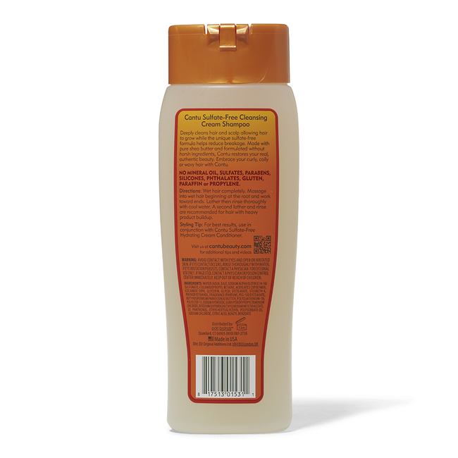 Sulfate Free Cleansing Cream Shampoo