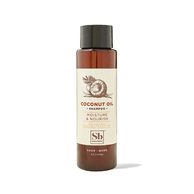Coconut Oil Moisture & Nourish Shampoo 16oz