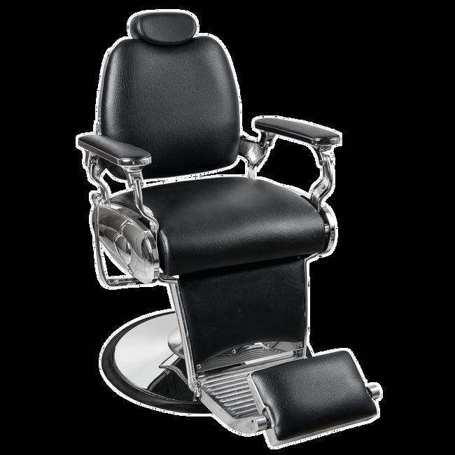Jaguar Black Barber Chair