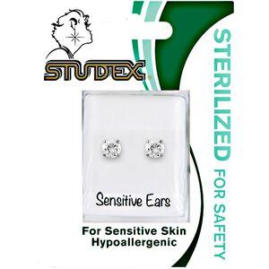 Stainless Steel Cubic Zirconia Earrings