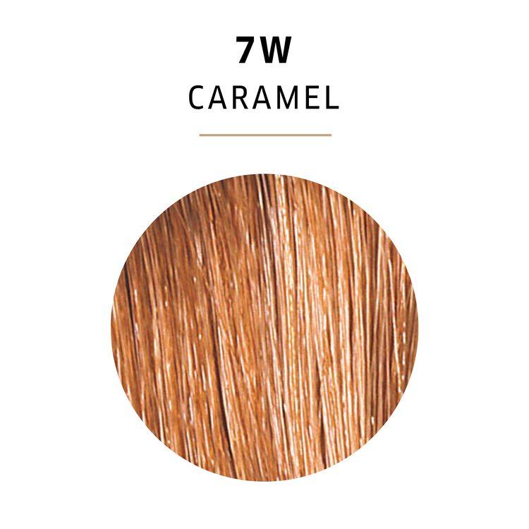 Caramel Color Charm Gel Permanent Hair Color