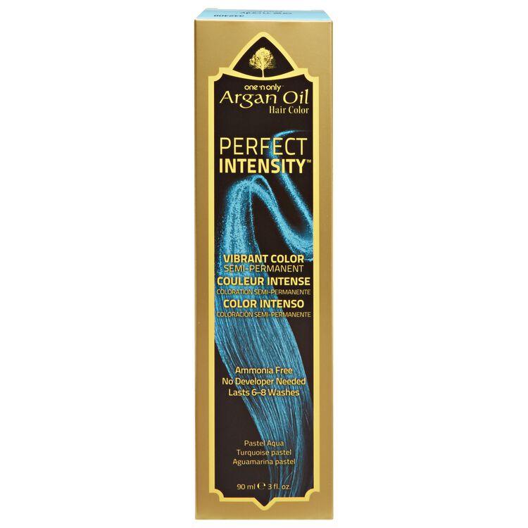 Argan Oil Pastel Aqua Semi Permanent Hair Color