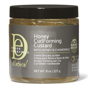 Honey Curl Forming Custard