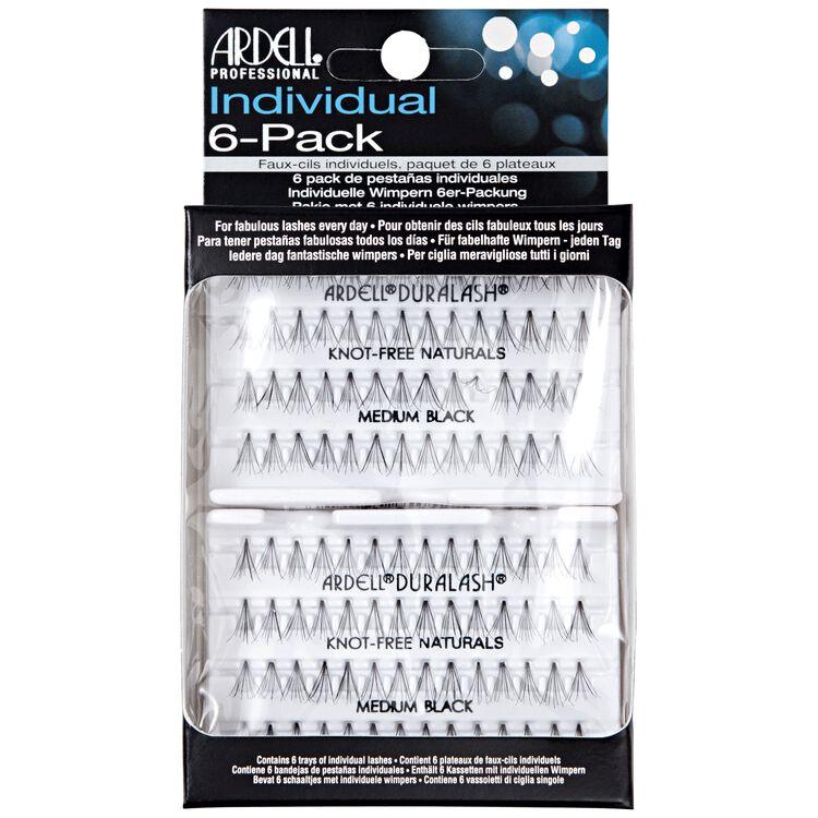 Individual 6 Pack Medium Lashes
