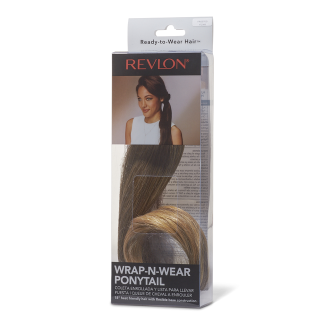 Wrap-N-Wear Ponytail Frosted