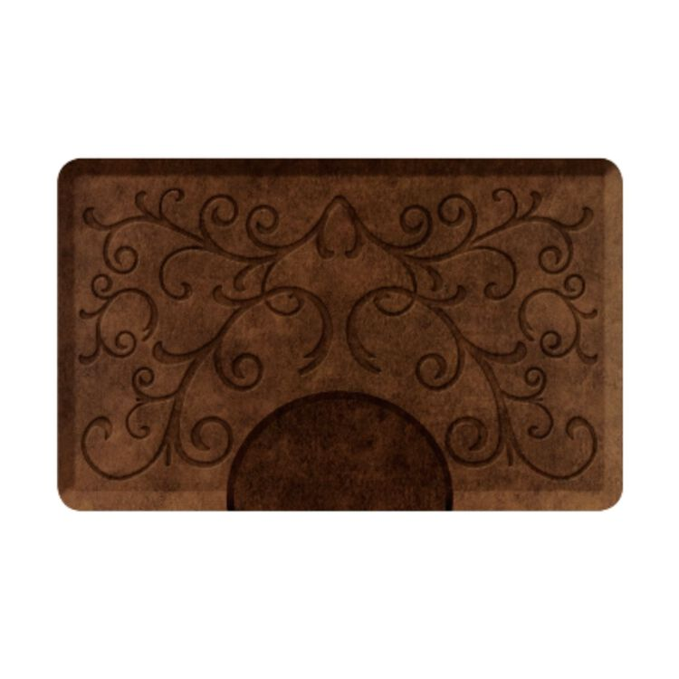 Bella Light Antique Rectangle Mat with Chair Depression
