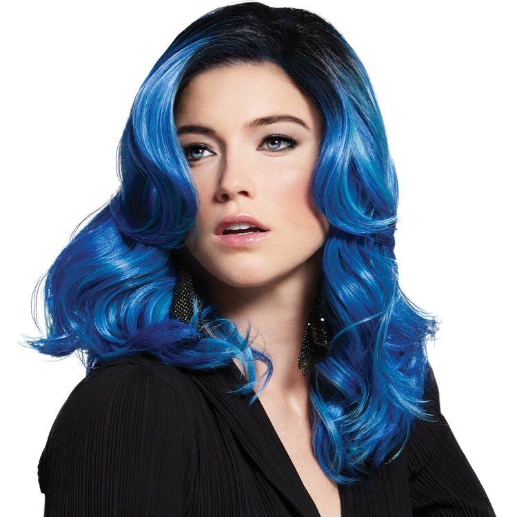 Blue Waves Fantasy Wig