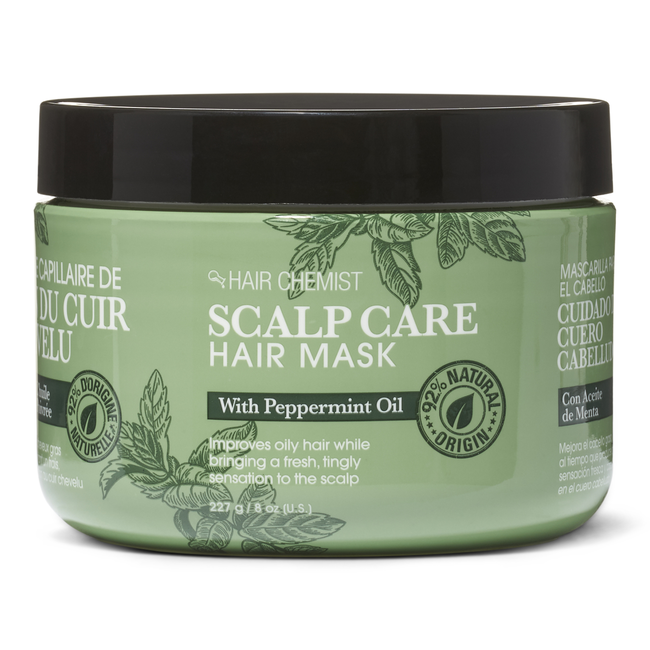 Scalp Care Hair Mask with Peppermint Oil
