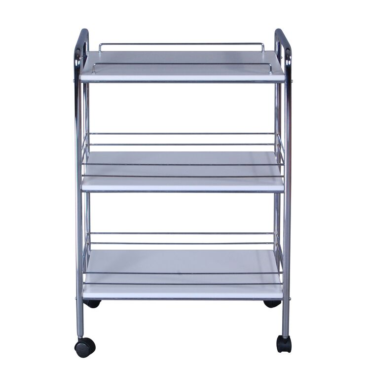 Georgie Three Shelves Utility Cart
