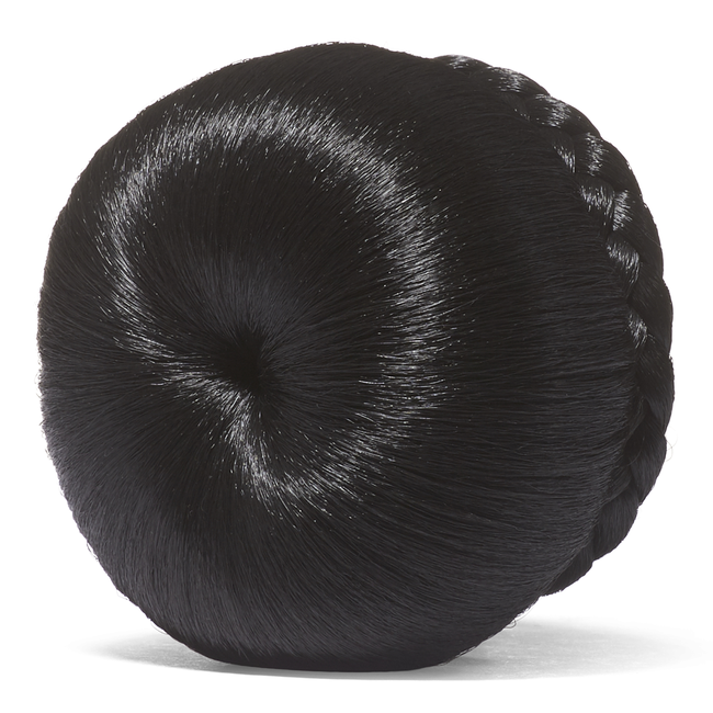 Off Black Donut Bun