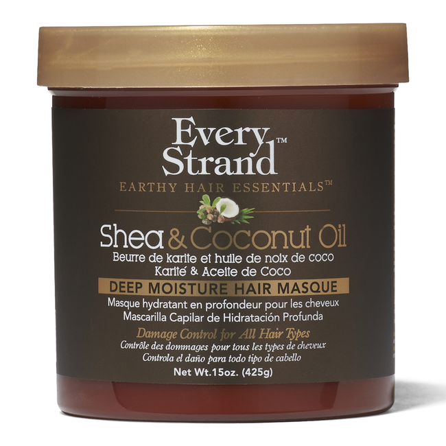 Shea & Coconut Oil Deep Moisture Hair Masque