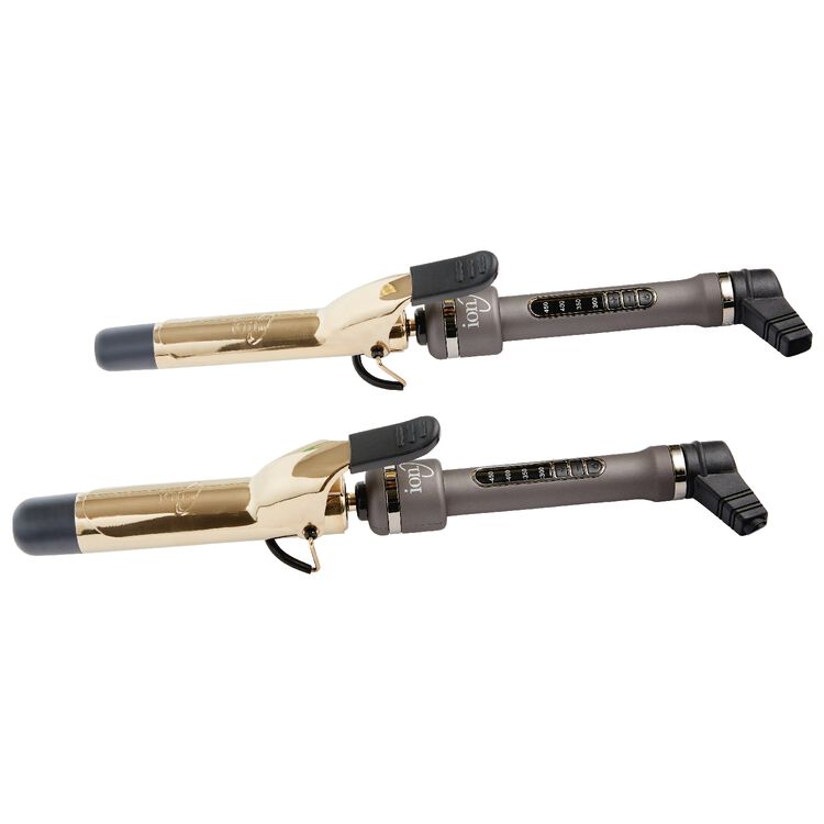 Ion Golden Titanium Curling Iron