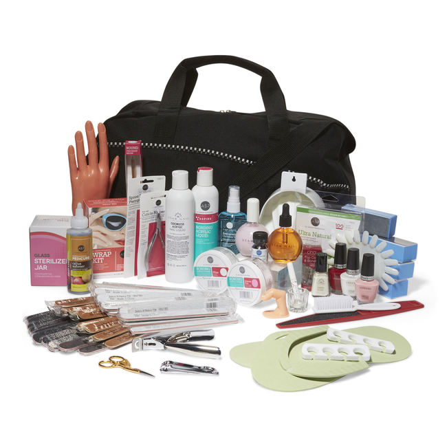 Beauty School Professional Manicure & Pedicure Kit