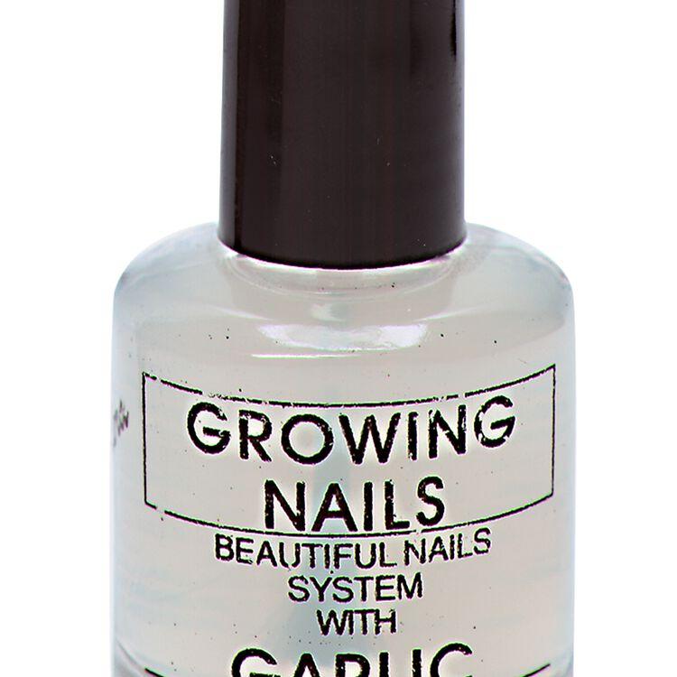 Growing Nails Garlic Treatment