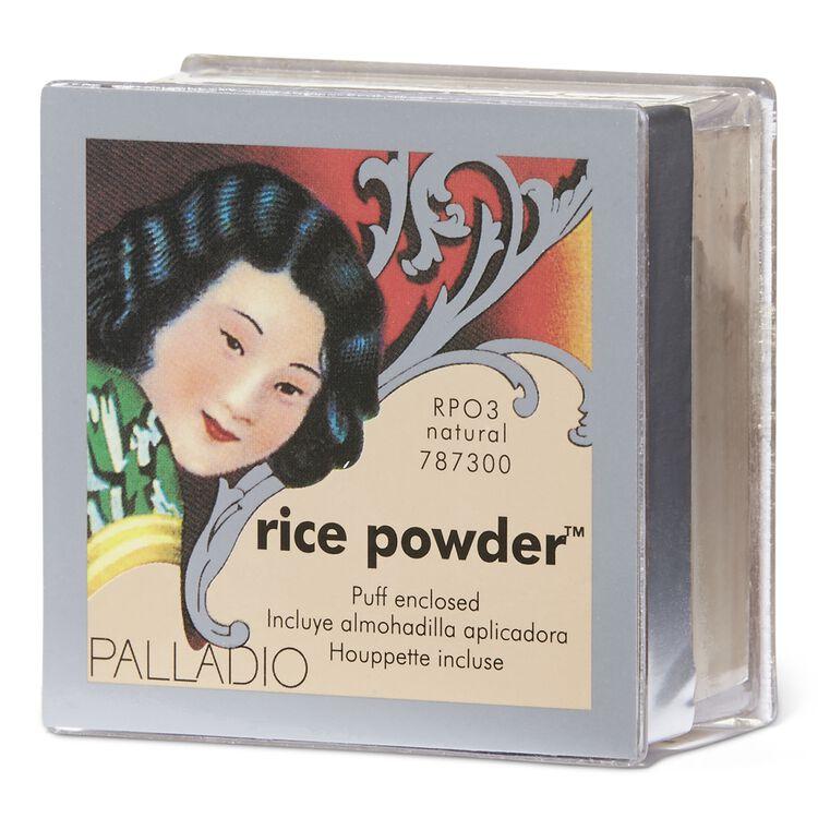 Palladio Natural Rice Loose Finishing Powder Natural