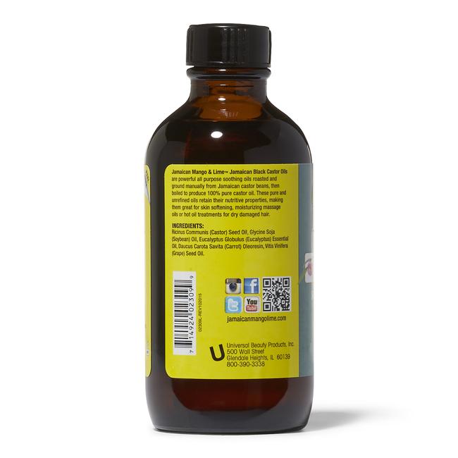 Eucalyptus Jamaican Black Castor Oil