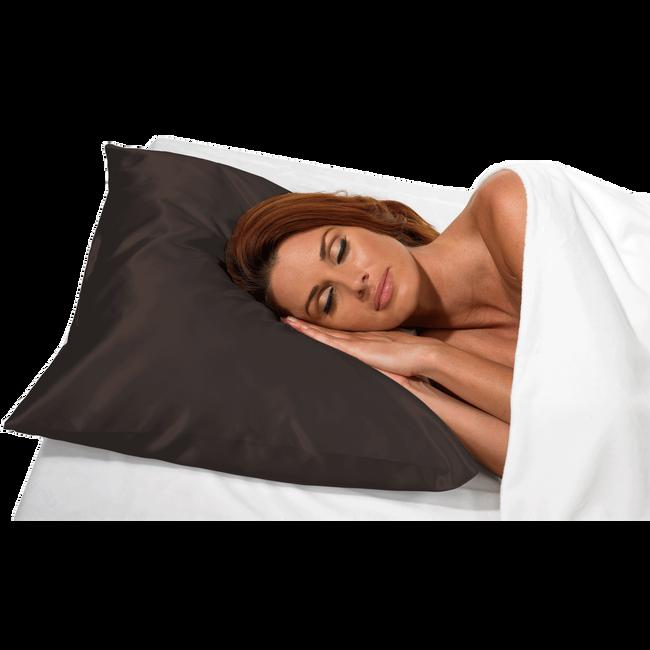 Black Satin Pillow Case
