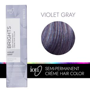 Violet Gray Semi Permanent Hair Color
