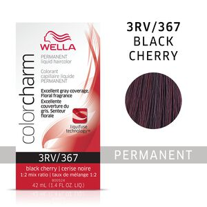 Black Cherry Color Charm Liquid Permanent Hair Color