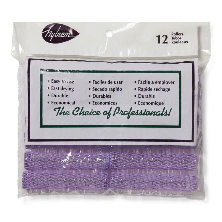Lavender Brush Rollers
