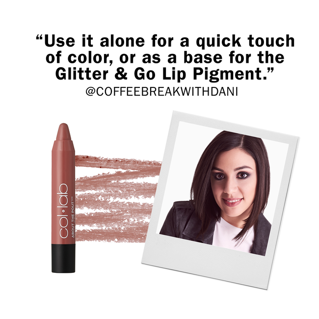 About the Pout Lip Balm Nude Mood