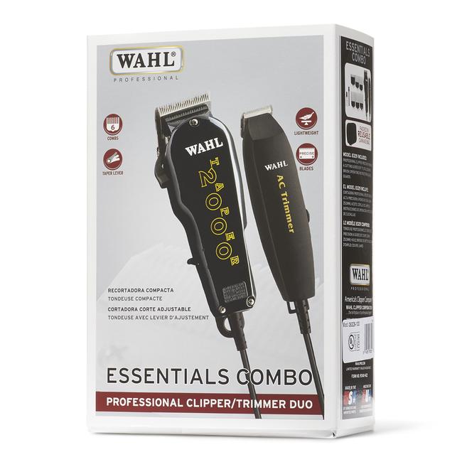 Essentials Clipper & Trimmer Combo