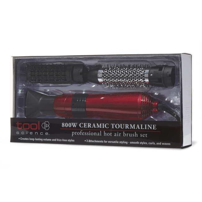 Ceramic Tourmaline Interchangeable Hot Air Brush