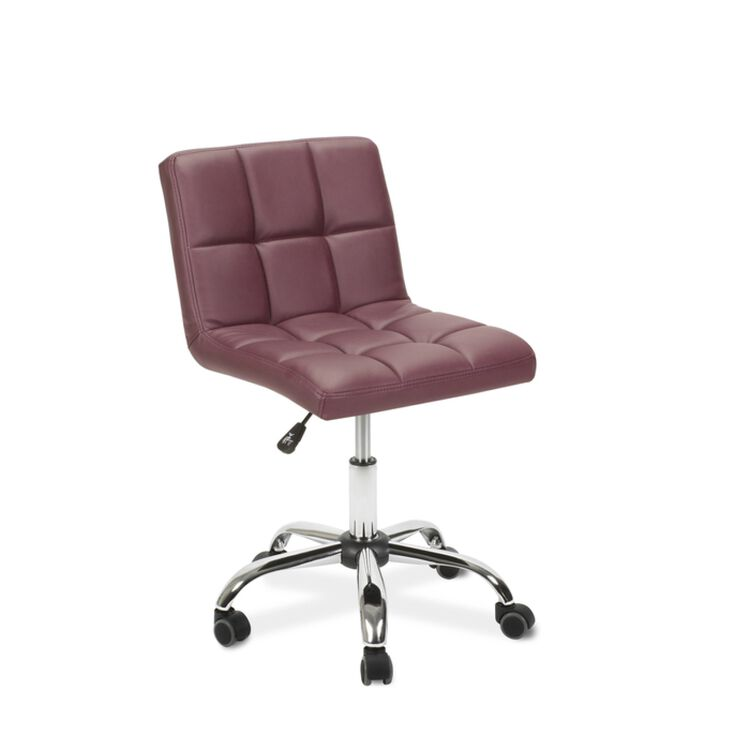 Toto Technician Stool Burgundy