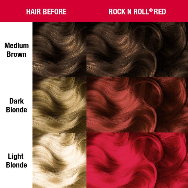 Rock 'N Roll Red Semi Permanent Cream Hair Color
