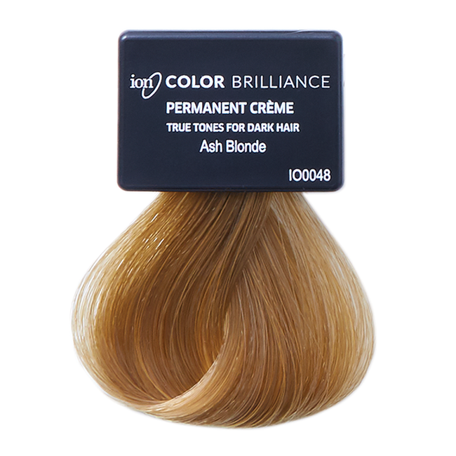 True Tones for Dark Hair Permanent Crème Hair Color Ash Blonde