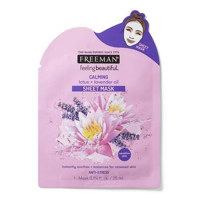 Calming Lotus & Lavender Oil Sheet Mask