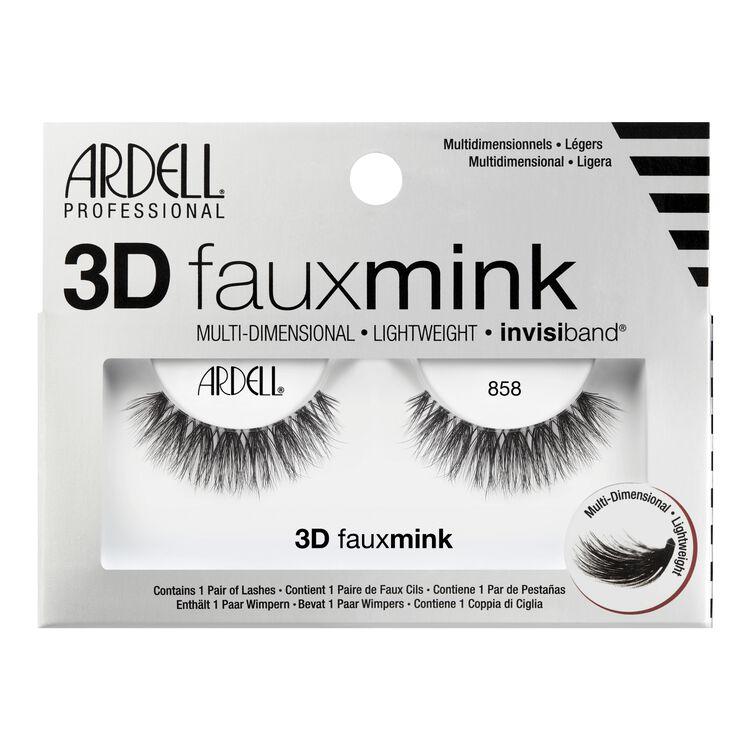 3D Faux Mink 858 Lashes