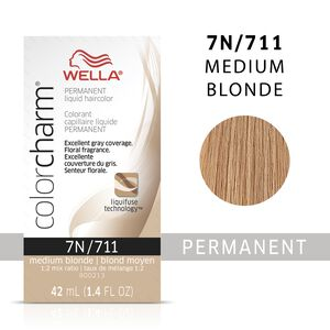 Medium Blonde Color Charm Liquid Permanent Hair Color