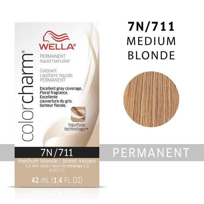Medium Blonde Color Charm Liquid Permanent Hair Color
