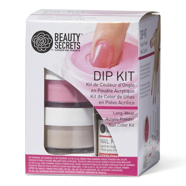 Beauty Secrets Dip Kit Powder Nail Color System