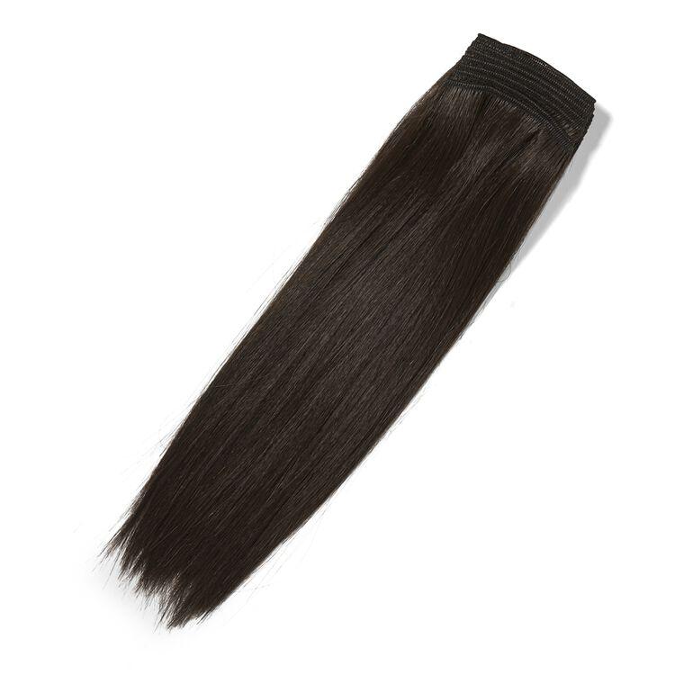 Brown 12 Inch Human & Premium Blend Hair