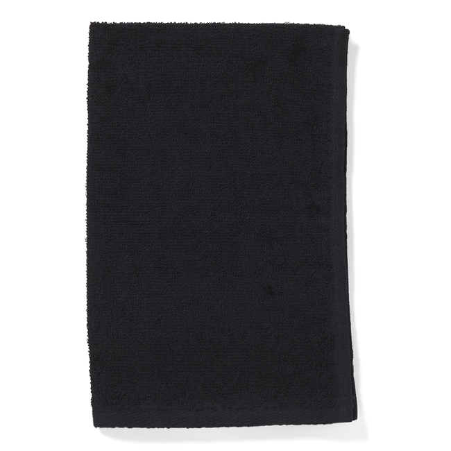 Bleach Guard Black Cotton Towel