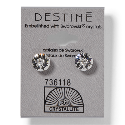 Destine Double Diamond Cut Earrings
