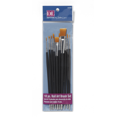 10 Piece Nail Art Brush Set
