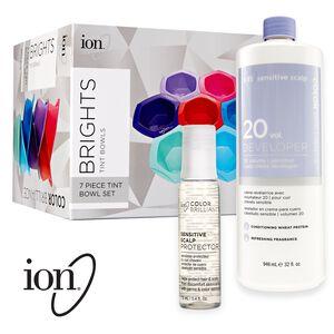 Ion Sensitive Scalp Hair Coloring Set