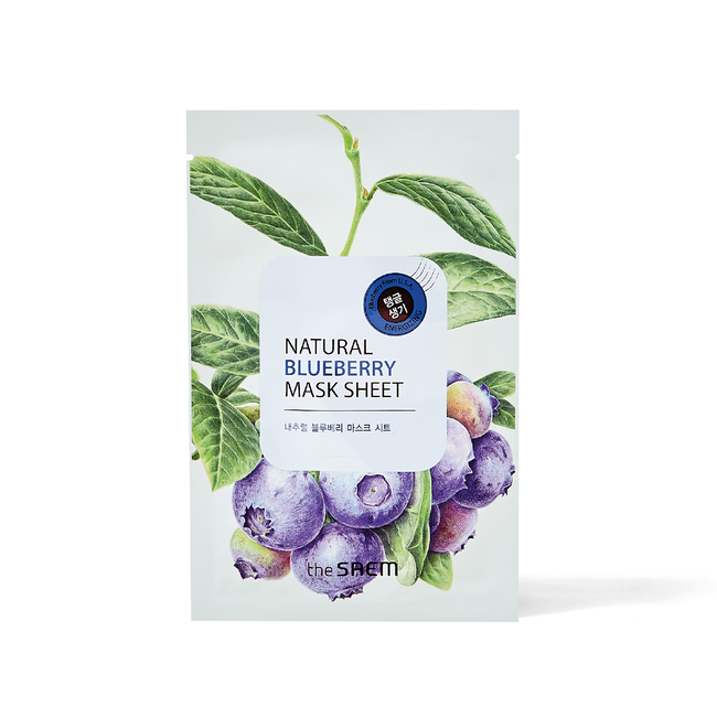 Natural Blueberry Sheet Mask