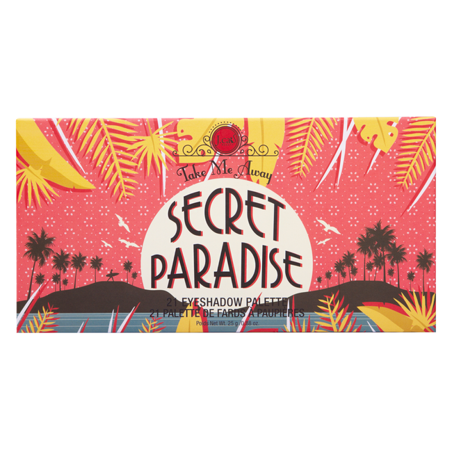 Take Me Away Secret Paradise 21 Eyeshadow Palette