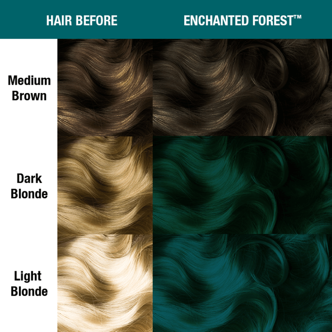 Enchanted Forest Semi Permanent Cream Hair Color