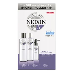 System 5 Kit for Thicker Fuller Chemically Treated Hair