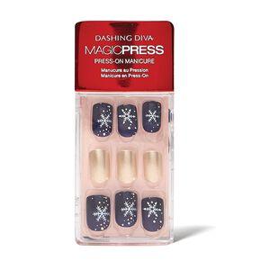Snowflake Kisses Press On Nail Kit