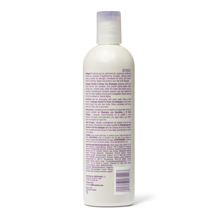Keratin & Green Tea Shampoo