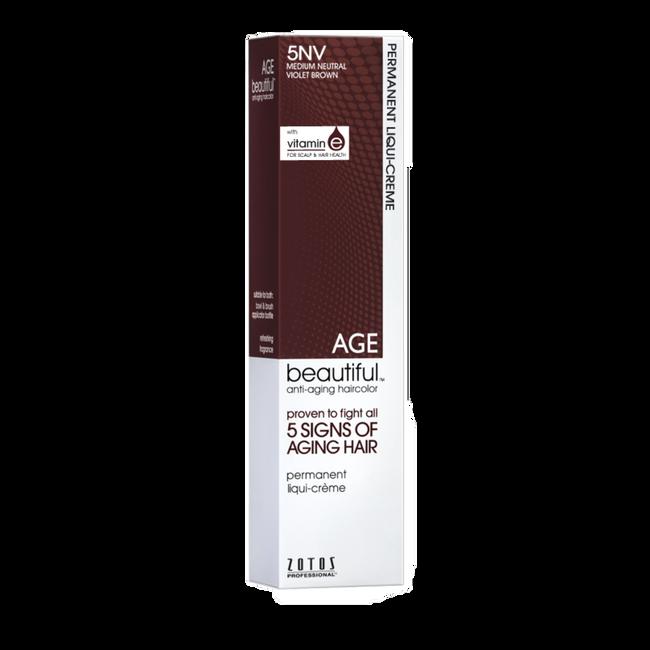 5NV Medium Neutral Violet Brown Permanent Liqui-Crème Haircolor Neutral Violet Collection