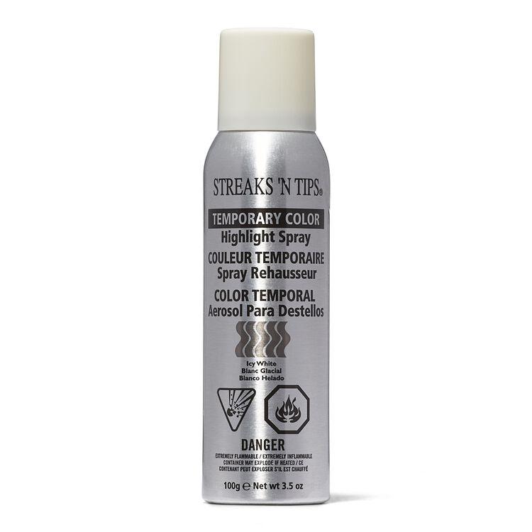 Icy White Temporary Color Highlight Spray