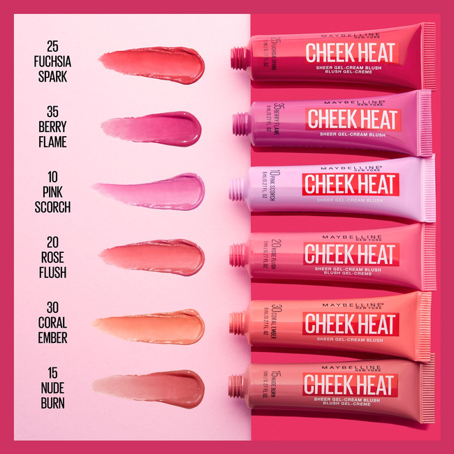 Cheek Heat Gel-Cream Blush